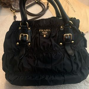 Authentic Prada bag with GHW